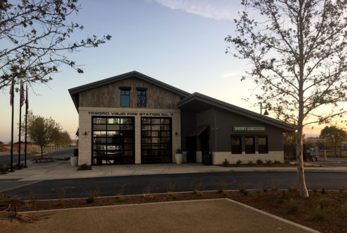 Tesoro Fire Station Framing - Madera
